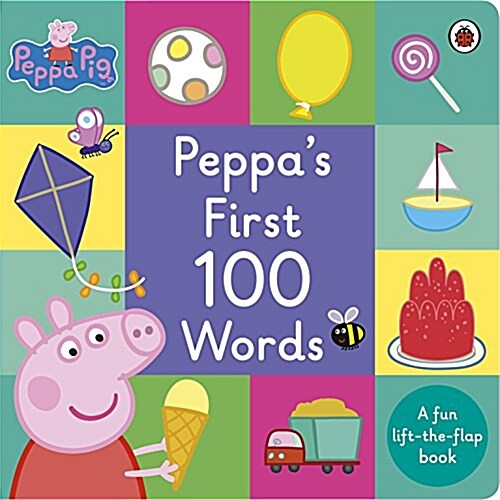 Peppa Pig: Peppas First 100 Words (Board Book)