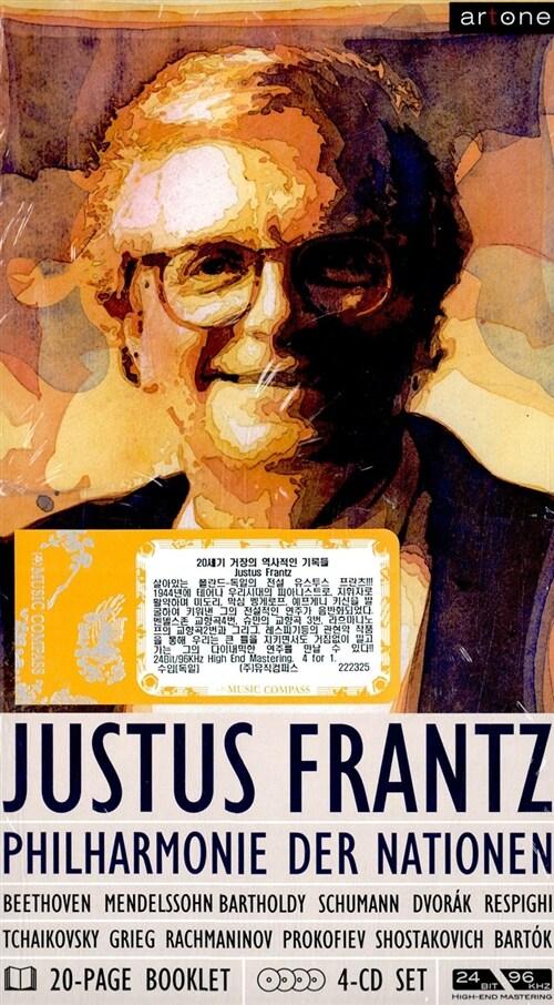 [수입] 20세기 거장의 역사적인 기록들 : 유스투스 프란츠 [4 for 1]