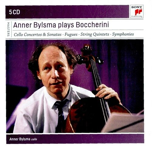 [수입] 안너 빌스마가 연주하는 보케리니 [5CD]
