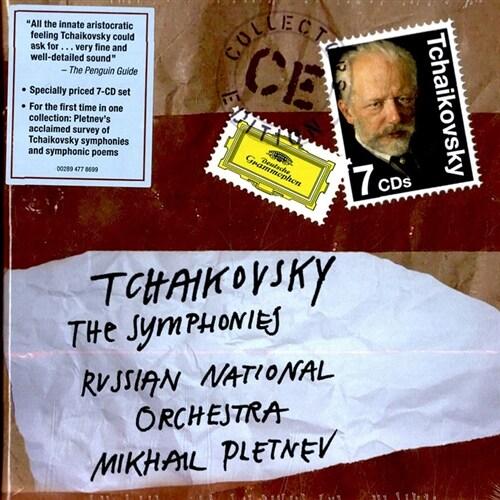 [수입] 차이콥스키 : 교향곡 전집 [7CD]