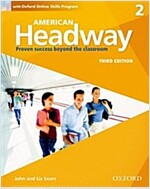 American Headway: Two: Student Book with Online Skills : Proven Success beyond the classroom (Package, 3 Revised edition)
