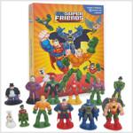 DC Super Friends My Busy Book 디씨 슈퍼 프렌즈 비지북 (미니피규어 12개 + 놀이판)