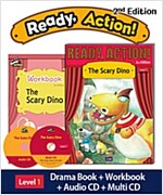 Ready Action 2E 1: The Scary Dino (Student Book + Workbook + Audio CD + Multi-CD , 2nd edition)