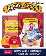 Ready Action 2E 1: The Shoemaker and the Elves (Student Book + Workbook + Audio CD + Multi-CD , 2nd edition )