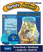 Ready Action 2E 1: The Ants and the Grasshopper (Student Book + Workbook + Audio CD + Multi-CD , 2nd edition )
