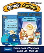 Ready Action 2E 1: The Emperor's New Clothes (Student Book + Workbook + Audio CD + Multi-CD , 2nd edition )