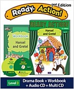 Ready Action 2E 1: Hansel and Gretel (Student Book + Workbook + Audio CD + Multi-CD , 2nd edition )