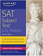 SAT Subject Test U.S. History (Paperback, 10)