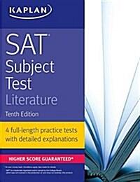 SAT Subject Test Literature (Paperback, 10)
