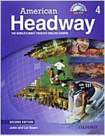 American Headway: Level 4: Student Book with Student Practice MultiROM (Package, 2 Revised edition)