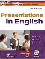 Presentations in English Student's Book & DVD Pack (Package)
