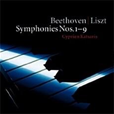 [수입] 베토벤 : 교향곡 전집 (리스트 피아노 편곡반) [6CD]