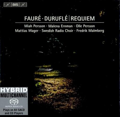 [수입] 뒤뤼플레 : 레퀴엠 Op.9 & 포레 : 레퀴엠 Op.48 (마티아스 바게르 오르간 버전) (SACD)