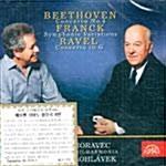 [수입] 베토벤 : 피아노 협주곡 4번, 프랑크 : 교향적 변주곡 & 라벨 : 협주곡 in G