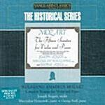 [수입] The Historical Series - 모차르트 : 바이올린과 피아노를 위한 소나타 전집