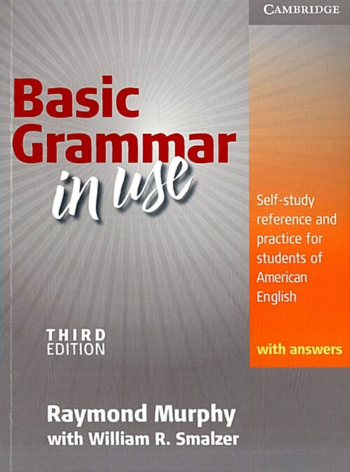 Basic Grammar in Use Students Book with Answers, Korean Edition: Self-Study Reference and Practice for Students of American English (Paperback, 3, Revised)