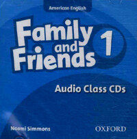 Family and Friends American Edition: 1: Class CD (CD-Audio)