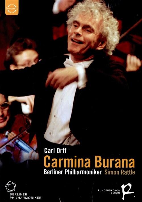[수입] 칼 오르프 : 카르미나 부라나 - 베를린필 송년음악회 2004 (한글번역 내지)
