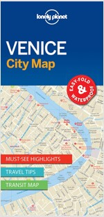 Lonely Planet Venice City Map (Folded)