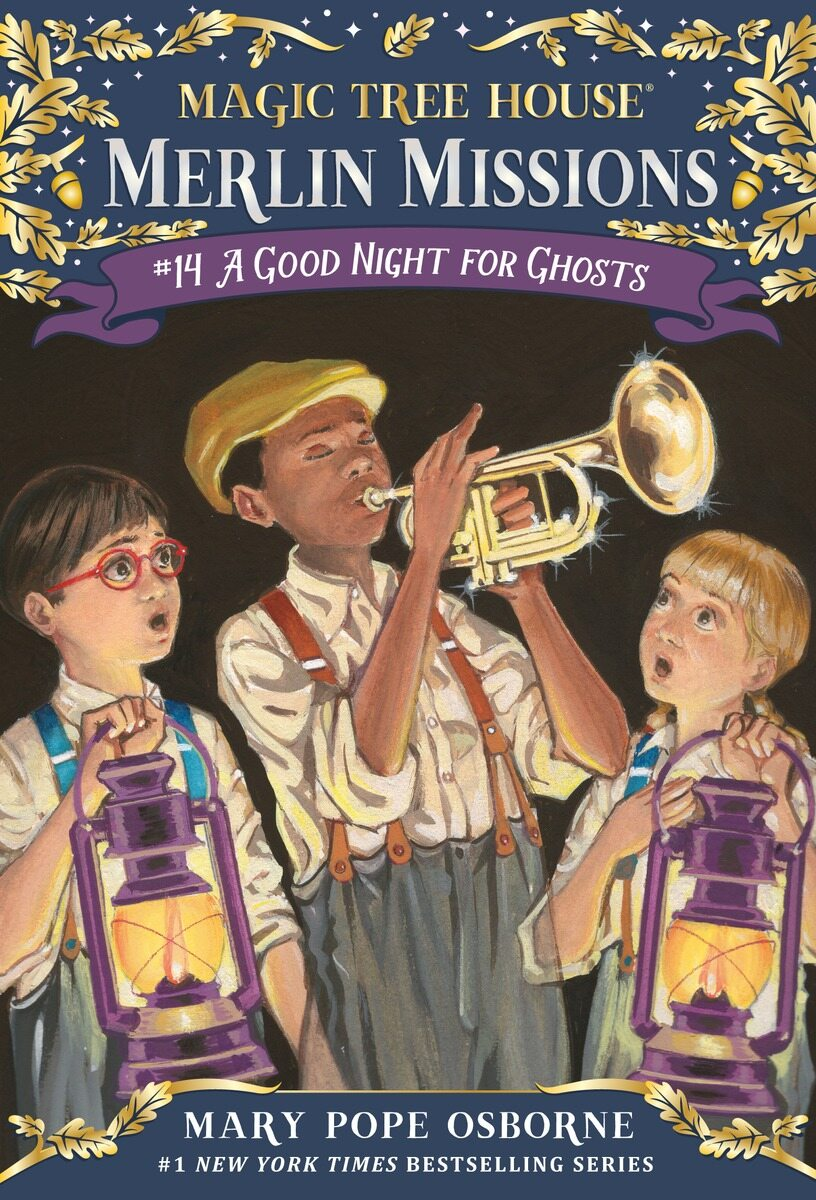 Merlin Mission #14 : A Good Night for Ghosts (Paperback)