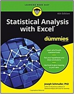 Statistical Analysis with Excel for Dummies (Paperback, 4)
