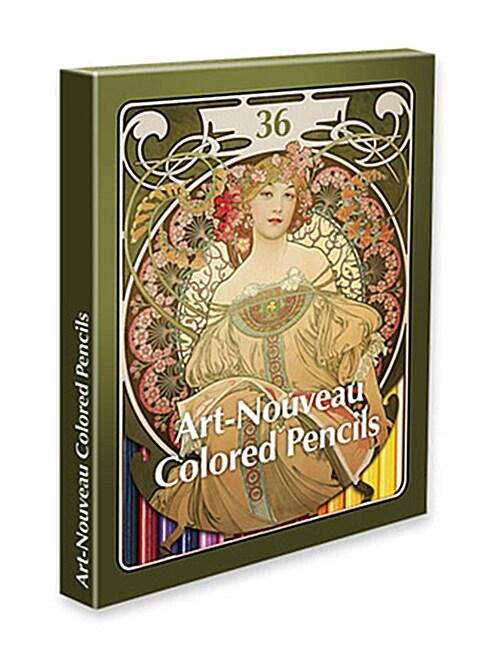 아르누보 36색 색연필