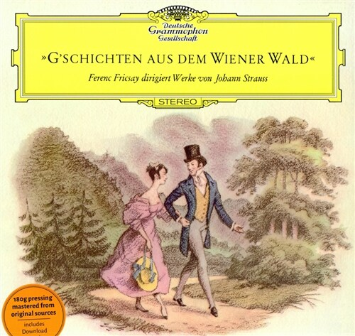 [수입] 슈트라우스 & 슈트라우스 2세 : 비엔나 숲 속의 이야기 [180g LP]