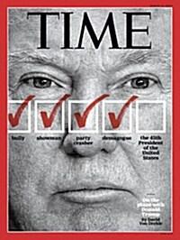 Time (USA) (주간 미국판) 2016년 3월 14일