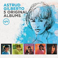 [수입] Astrud Gilberto - 5 Original Albums [5CD]