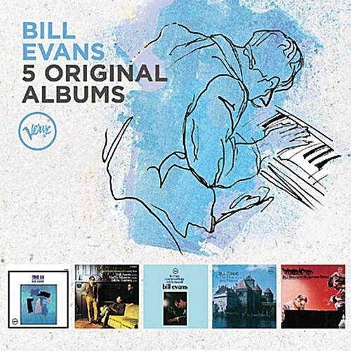 [수입] Bill Evans - 5 Original Albums [5CD]
