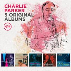 [수입] Charlie Parker - 5 Original Albums [5CD]