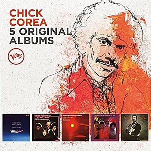[수입] Chick Corea - 5 Original Albums [5CD]