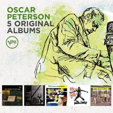 [수입] Oscar Peterson - 5 Original Albums [5CD]