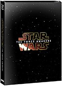 [블루레이] 스타워즈: 깨어난 포스 - 한정판 스틸북 콤보팩 (3disc: 2BD+DVD)