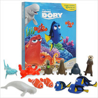 Disney Finding Dory My Busy Book (미니피규어 12종 포함) (Board book)