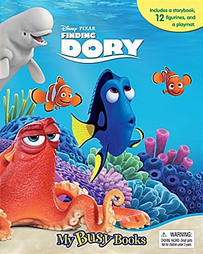 Disney Finding Dory My Busy Book (Board book + 미니피규어 12종)