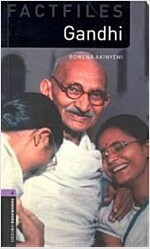 Oxford Bookworms Library Factfiles: Level 4:: Gandhi (Paperback)