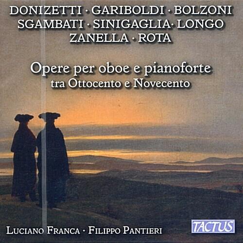 [수입] 19-20세기 오보에와 피아노를 위한 작품들 (도니제티, 니노 로타 외)