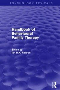 Handbook of behavioural family therapy