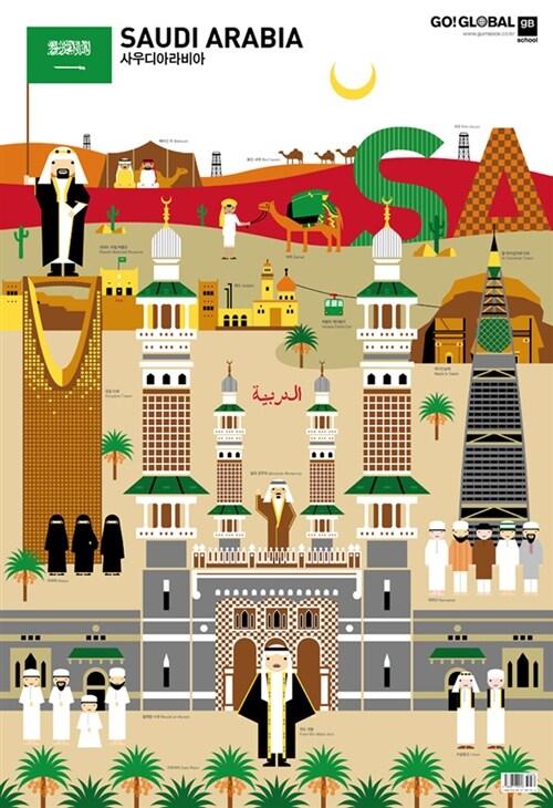 G20 : 사우디아라비아 (벽보)