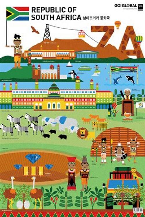 G20 : 남아프리카공화국 (벽보)