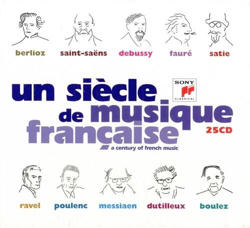 [수입] 프랑스 음악의 세기 (베를리오즈에서 불레즈까지) [25CD]