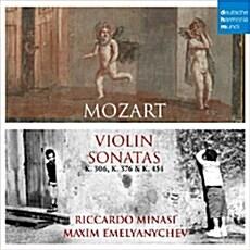 [수입] 모차르트 : 바이올린 소나타 23번 K306, 24번 K376 & 32번 K454