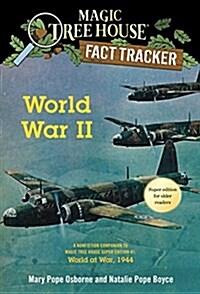 Magic Tree House Fact Tracker #36 : World War II : World at War 1944 (Paperback)