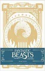 Fantastic Beasts and Where to Find Them: Macusa Hardcover Ruled Journal (Hardcover)