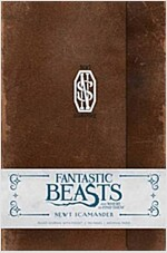Fantastic Beasts and Where to Find Them: Newt Scamander Hardcover Ruled Journal (Hardcover, Not for Online)
