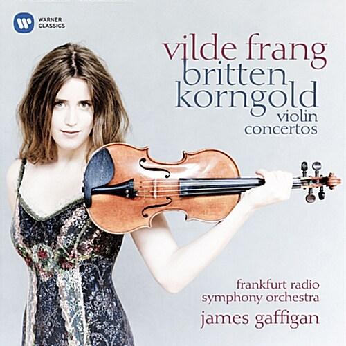 [수입] 브리튼 : 바이올린 협주곡 D단조 Op. 15 / 코른골트 : 바이올린 협주곡 D장조 Op. 35