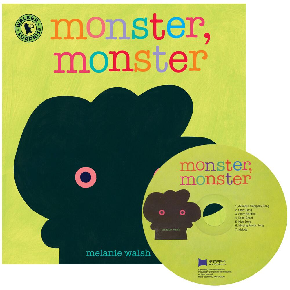 노부영 세이펜 Monster, Monster (Hardcover + CD)