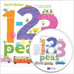 노부영 세이펜 1-2-3 Peas (PB+CD)