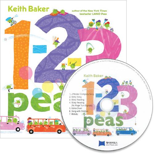 노부영 세이펜 1-2-3 Peas (Paperback + CD)